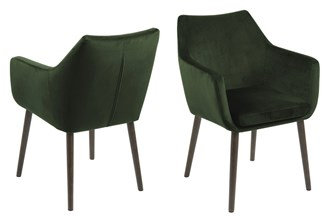 1NORA_ARMCHAIR_VIC_FOREST_GREEN_68_BASE_OAK_DARK_BROWN_STAINED_LACQUERED (1)