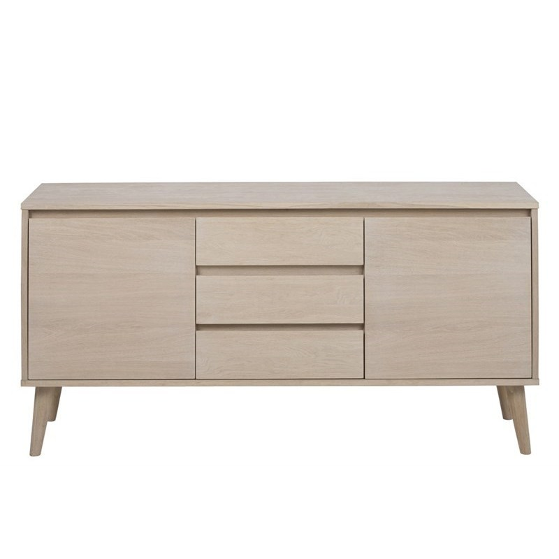 NAGANO_SIDEBOARD_SOLID_VENEER_OAK_WHITE_PIGMENTED_2_DOORS_3_DRAWERS_150X40XH75