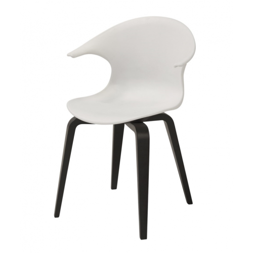 ICON Chair w:white PP shell