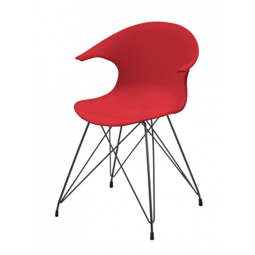 JAMES Chair w:185C red PP