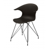 JAMES Chair w:black PP shell х 4