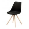 WOODY Dining chair w:black