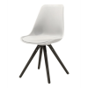 WOODY Dining chair w:white blac