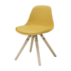 WOODY Junior chair w:warm yellow