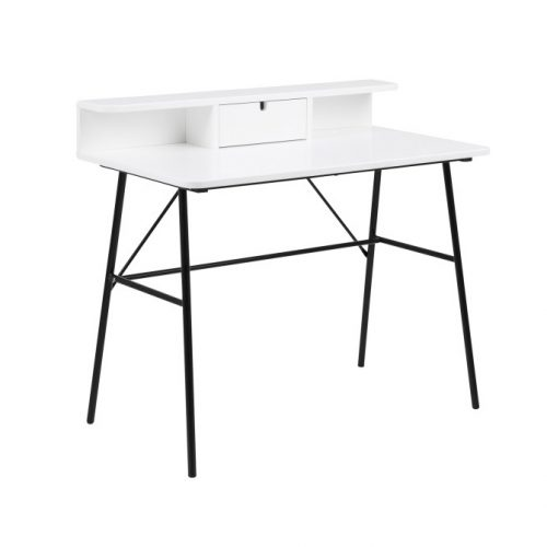 PASCAL_DESK_MATT_WHITE_PU_PAINTING_METAL_POWDER_COATED_BLACK_100X55XH88