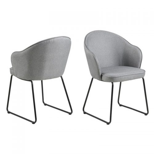 MITZIE_DC_CORSICA_LIGHT_GREY_40_SLEDGE_LEGS_METAL_POWDER_COATED_BLACK