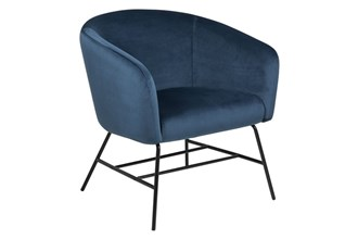 RAMSEY_RESTING_CHAIR_VIC_NAVY_BLUE_66_BASE_METAL_POWDER_COATED_MATT_BLACK