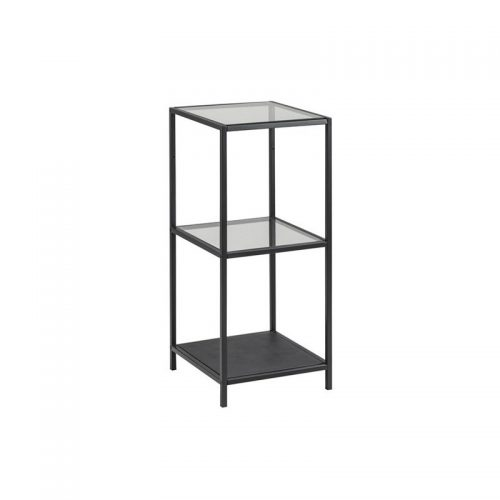 SEAFORD_BOOKCASE_2_GLASS_SHELVES_8_MM_METAL_BLACK_35X37XH86_3