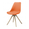HAMMEL Chair w:orange PP+PU