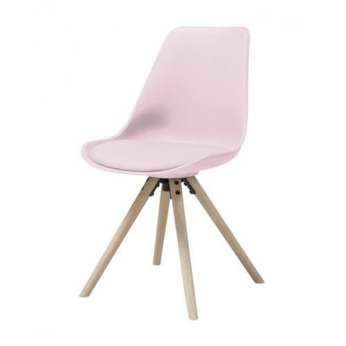 HAMMEL Chair w:rose PP+PU seat