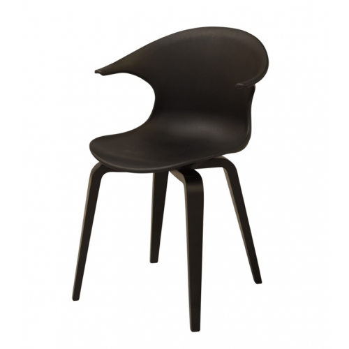 ICON Chair w:black PP shell