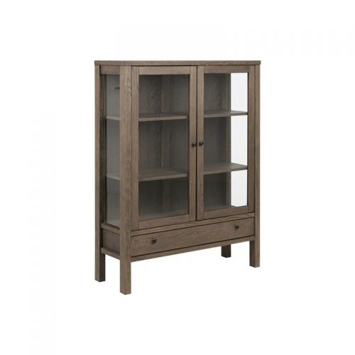 BRENTWOOD_GLASS_CABINET_OAK_SMOKE_STAIN_WAX_TREATED_2GL_DOORS_1DR_110X37XH145_5