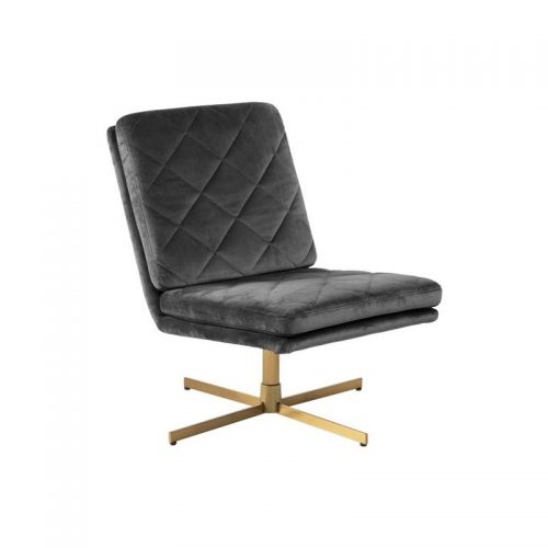 CARRERA_SWIVEL_CHAIR_VIC_DARK_GREY_28_HARLEQUIN_4STAR_METAL_BRASS_COL