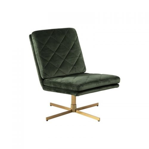 CARRERA_SWIVEL_CHAIR_VIC_FORESTGREEN_68AC_HARLEQUIN_4STAR_METAL_BRASS_COL