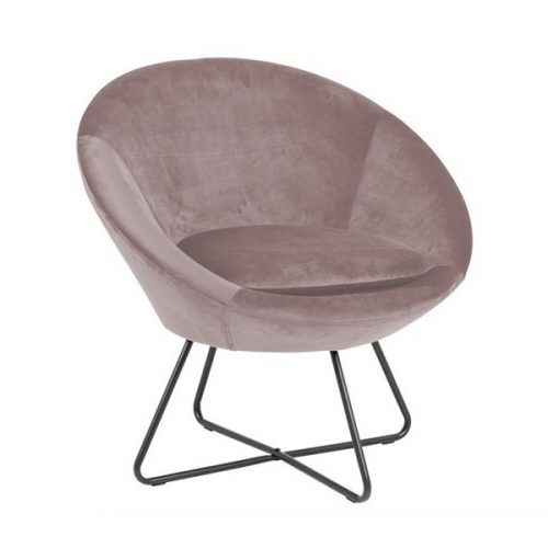 CENTER_RESTING_CHAIR_VIC_DUSTY_ROSE_18_METAL_LEGS_PC_ROUGH_MATT_BLACK