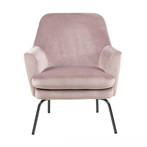 CHISA_RESTING_CHAIR_VIC_DUSTY_ROSE_18_BASE_METAL_POWDER_COATED_BLACK_ACT001