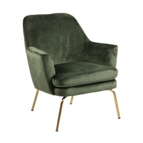 CHISA_RESTING_CHAIR_VIC_FOREST_GREEN_68AC_BASE_METAL_BRASS_COLOURED