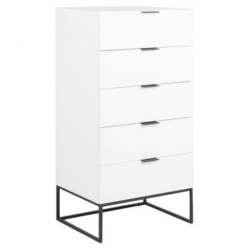 KOBE_CHEST_OF_5_DRAWERS_WHITE_CABINET_MAP002_LEGS_BLACK_MPG001_60X45XH120_ORIG