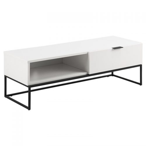 KOBE_TV_UNIT_W_1FLAP_DOOR_1ROOM_MAP002_WHITE_CABINET_MPG001_LEGS_BLACK_120X41_8XH40_3