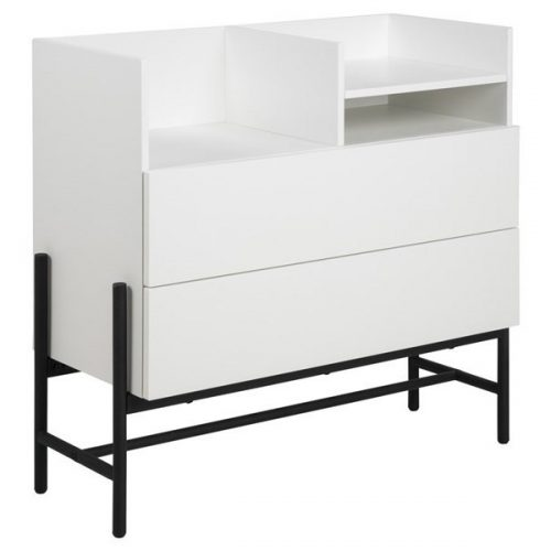 NORSE_CHEST_MDF_MAP002_WHITE_1SHELVE_2_DRAWERS_BASE_METAL_BLACK_MPG001_95X41_9XH89_9_ORIG