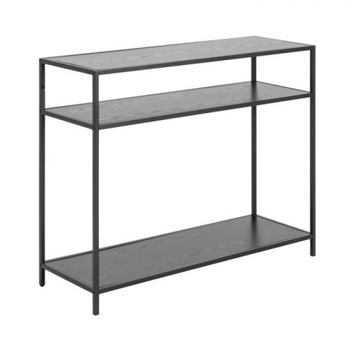 SEAFORD_CONSOLE_MELAMINE_ASH_BLACK_1SHELF_METAL_PC_ROUGHT_MATT_BLACK5_100X35XH79_ORIG