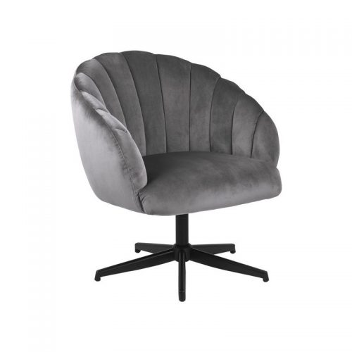 DANIELLA_SWIVEL_CHAIR_VIC_DARK_GREY_28_METAL_LEGS_PC_ROUGH_MATT_BLACK_MANI