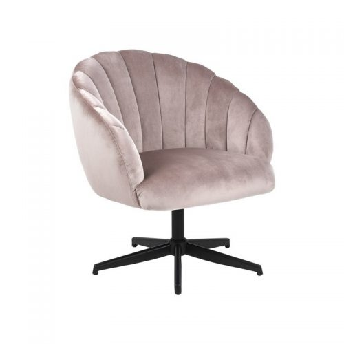 DANIELLA_SWIVEL_CHAIR_VIC_DUSTY_ROSE_18_METAL_LEGS_PC_ROUGH_MATT_BLACK_MANI