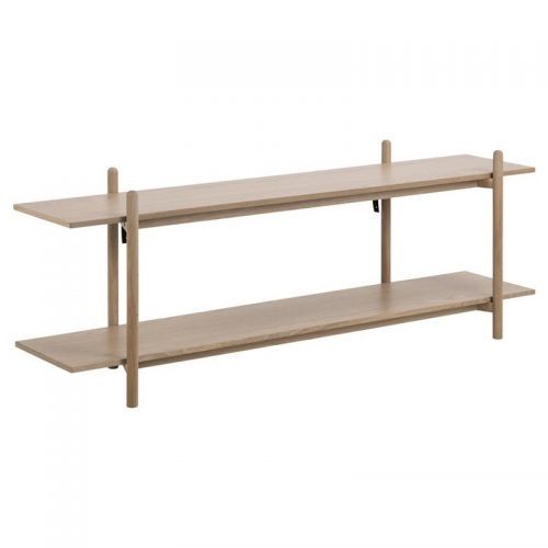 ASBAEK_WALL_UNIT_SOLID_VENEER_OAK_WL100_2HELVES_150X36_6_H54_5_ORIG