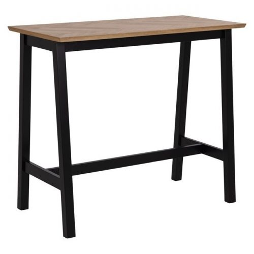 BRIGHTON_BAR_TABLE_TOP_HERRINGBONE_VENEER_OAK_OIL_BASE_MDF_BLACK_PAINT_120X60XH105_ORIG